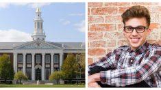 Genio de 17 años se gradúa del secundario y a los pocos días recibe su título en Harvard