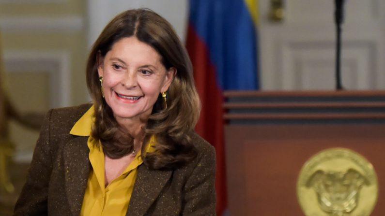 La vicepresidenta colombiana Marta Lucía Ramírez el 12 de diciembre de 2018. (RAUL ARBOLEDA/AFP/Getty Images)