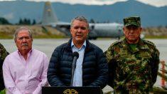 """Colombia evalúa su política de seguridad para atacar a ELN y """"disidencias"""" de FARC"""