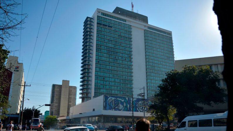 Vista del Hotel Habana Libre, perteneciente al grupo Meliá, el 28 de febrero de 2019. (YAMIL LAGE/AFP/Getty Images)