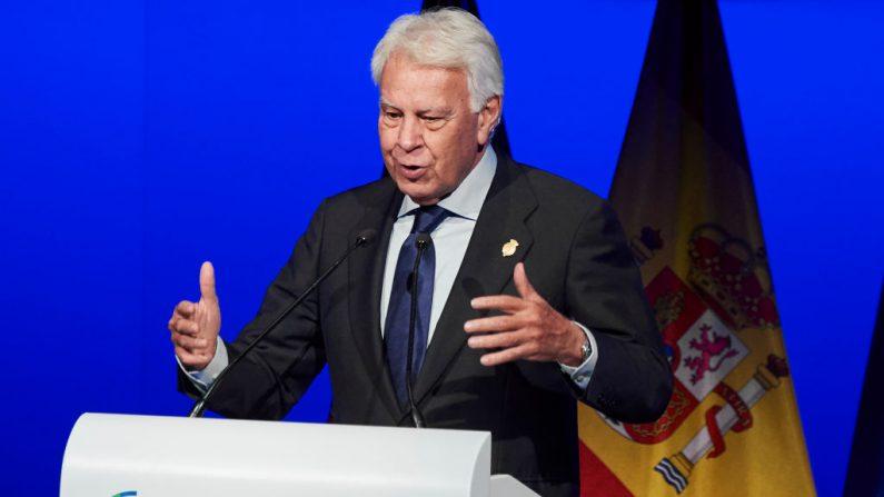 El expresidente de España Felipe González el 20 de febrero de 2019 en Madrid, España. (Carlos Alvarez/Getty Images)