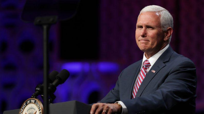 El vicepresidente de EE.UU. Mike Pence el 6 de mayo de 2019 en Washington, DC. (Chip Somodevilla/Getty Images)