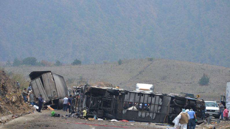 Accidente en Veracruz, México el 29 de mayo de 2019. ( Guillermo Carreon/Getty Images)
