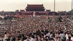 En memoria de la masacre de la plaza de Tiananmen