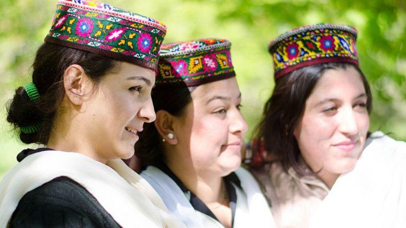 Mujeres Hunza. (Crédito: Wikipedia/Dominio Público)
