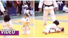 ¡Esta es la mejor pelea de judo que verás en tu vida!
