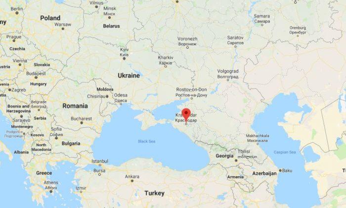 La entrenadora es de la ciudad de Krasnodar, Russia. (Google Maps)