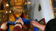 Imágenes parecen probar que un lama momificado hace 90 años deambula por el museo