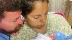 """Pareja pierde a trillizos a las pocas horas de nacer: """"nunca vimos de qué color eran sus ojos"""""""