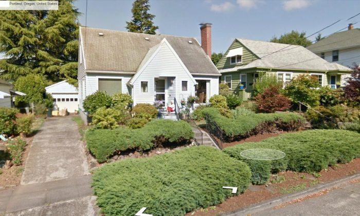 Foto mostrando a la abuela en Oregon.  (Google Street View)