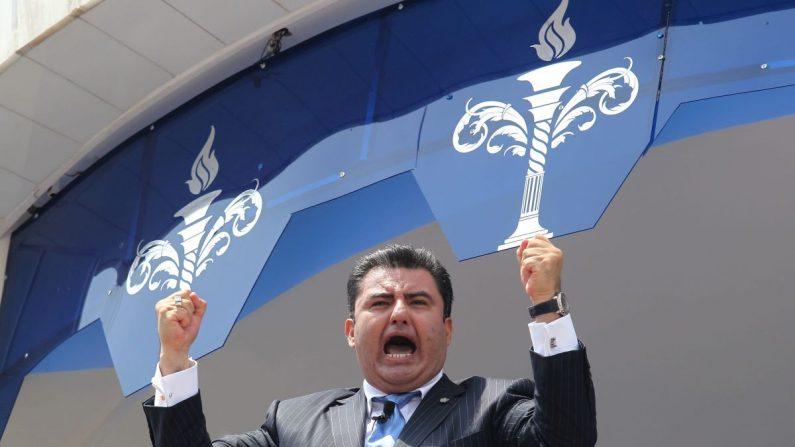 El líder de la iglesia evangélica mexicana La Luz del Mundo, Naasón Joaquín García. EFE/Archivo