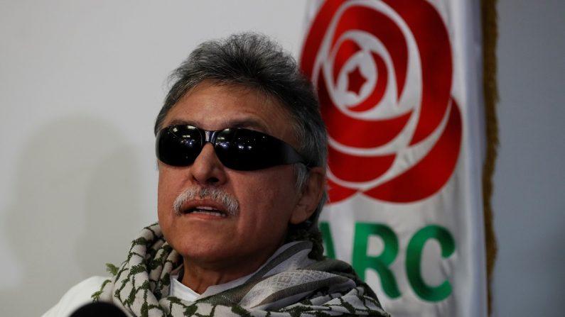 """El líder del partido político FARC Seuxis Paucias Hernández, alias """"Jesús Santrich"""". EFE"""