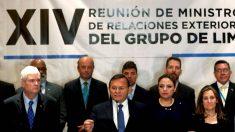 Grupo de Lima acuerda intensificar la presión contra el régimen de Nicolás Maduro