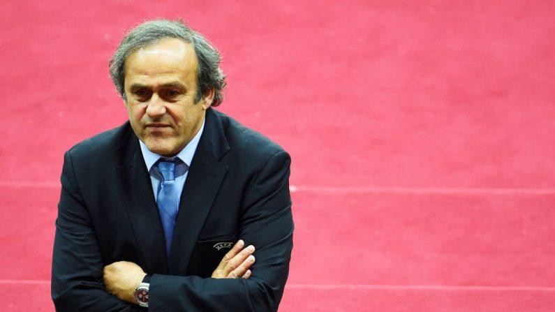 El exfutbolista francés y expresidente de la UEFAMichelPlatini. EFE