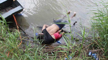 Encuentran cuerpos de un padre y su hija que perdieron la vida intentando cruzar el río Bravo en México