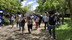 Policía y civiles armados atacan a manifestantes en actividades religiosas en Nicaragua