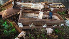 Obreros de la construcción descubren restos humanos muy bien conservados con ropa de la dinastía Ming