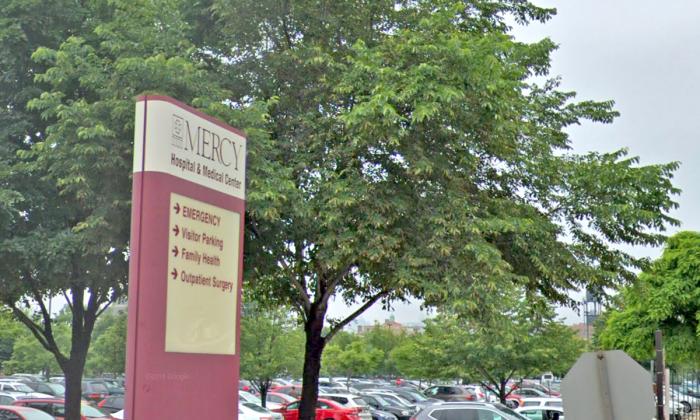 Mercy Hospital and Medical Center de Chicago. (Captura de pantalla/Google Maps)