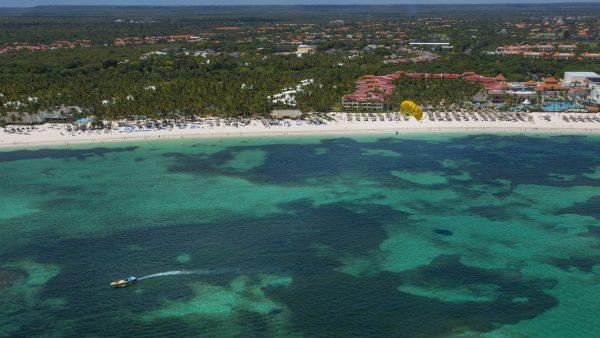Vista aérea de Punta Cana, República Dominicana. (Erika Santelices/AFP/Getty Images)