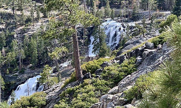 Eagle Falls, donde una mujer joven murió por tomarse un selfie. (Crédito: Distrito de Protección contra Incendios del Norte de Tahoe)
