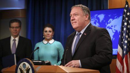Pompeo condena las atrocidades en China y promete proteger los derechos religiosos internacionales
