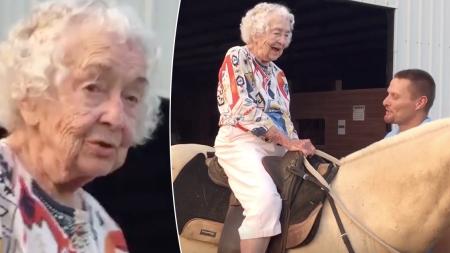 ¡Esperó 102 años para cumplir el sueño de su vida!