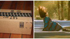 Mujer trata de escapar después de robar cajas, pero nunca se imaginó recibir un karma instantáneo