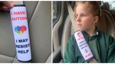 Crea un accesorio para el cinturón de seguridad de su hija especial y la idea se vuelve viral