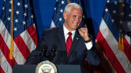 """Lanzan coalición """"Latinos por Trump"""" con la presencia del vicepresidente Mike Pence en Miami"""