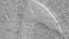 NASA avista en Marte el logotipo de la Flota Estelar de Star Trek