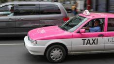 Taxistas toman las calles de Ciudad de México para protestar contra DiDi, Uber y Beat