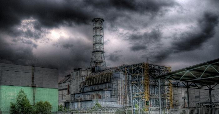 Imagen del sarcófago en la Zona Chernóbil obtenida con tecnología de alto rango dinámico (HDR). / Piotr Andryszczak/Wikimedia