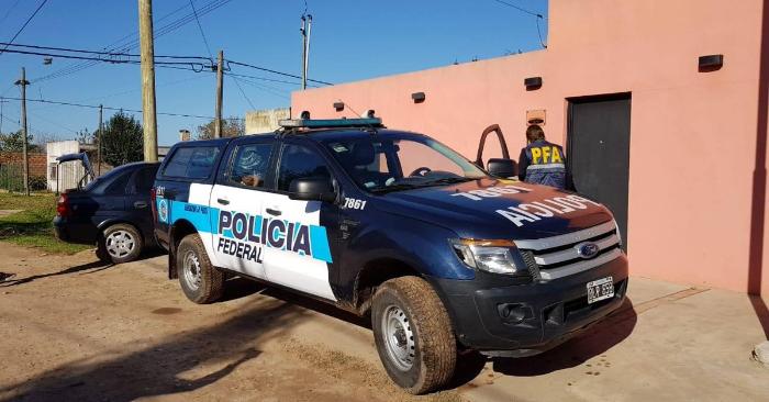 Foto ilustrativa de la Policía Federal Argentina/Twitter.