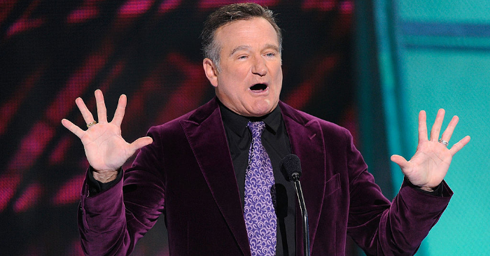 Robin Williams el 7 de enero de 2009 en Los Ángeles, California. Kevork Djansezian/Getty Images para PCA.
