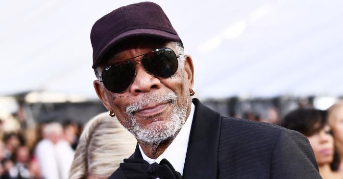 El actor Morgan Freeman asiste a la 24ª entrega anual de los Premios del Gremio de Actores en el Auditorio Shrine el 21 de enero de 2018 en Los Ángeles, California. Foto de Emma McIntyre/Getty Images para Turner.