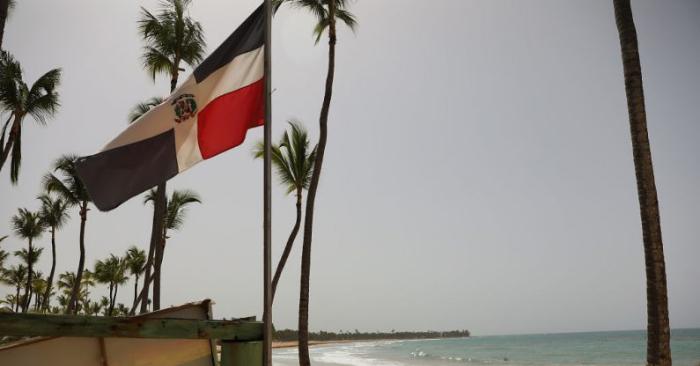 Punta Cana, República Dominicana. Entrada al complejo Excellence, resort donde, según los familiares de una de las víctimas, un turista murió inesperadamente después de enfermarse. Foto de Joe Raedle/Getty Images.