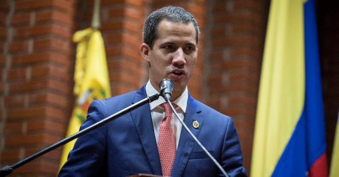 El presidente encargado de Venezuela, Juan Guaidó. (EFE/Archivo)