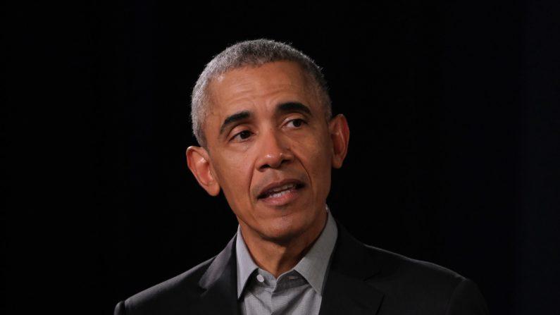 El expresidente de los Estados Unidos, Barack Obama, habla con jóvenes líderes de toda Europa el 6 de abril de 2019 en Berlín, Alemania. (Créditos: Sean Gallup/Getty Images)