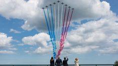 Trump y líderes mundiales conmemoran en Normandía el 75 aniversario del Día D