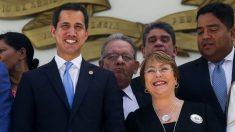 "Guaidó con Bachelet: ""Nos planteó que está insistiendo con la liberación de presos políticos"""