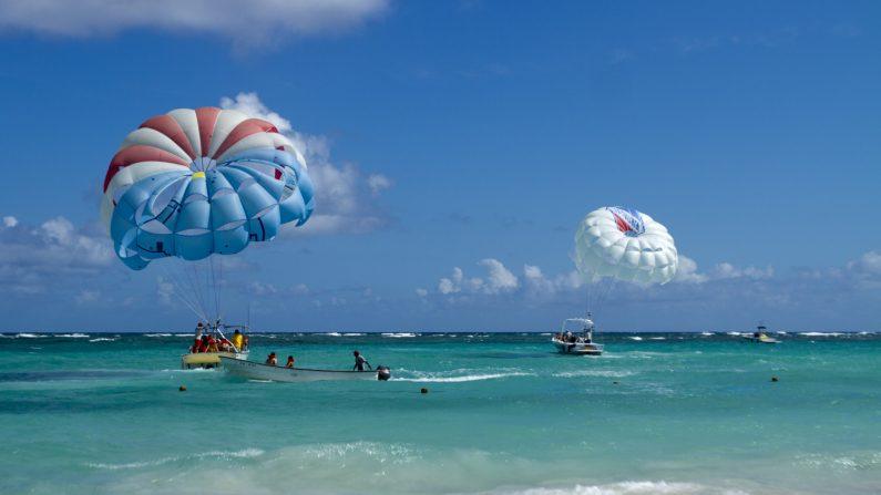 Vista de la playa Bávaro, en Punta Cana, República Dominicana, el 16 de enero de 2012(Erika Santelices/AFP/Getty Images)