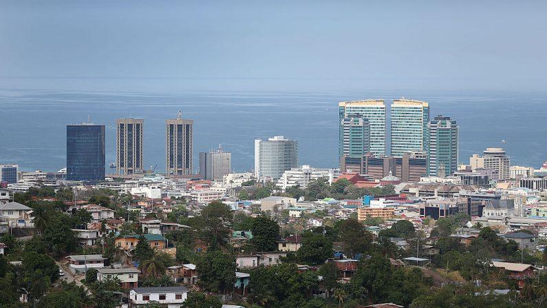 El centro de la ciudad de Puerto España en Trinidad y Tobago. (Joe Raedle/Getty Images)