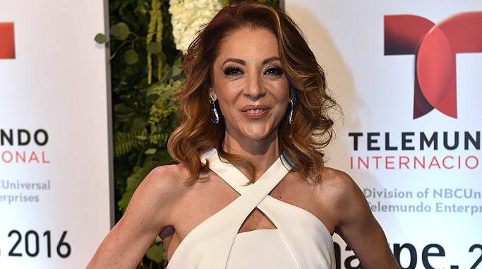 Edith Gonzalez asiste a la fiesta de Telemundo NATPE el 19 de enero de 2016 en Miami Beach, Florida. (Fabiano Silva/Getty Images)