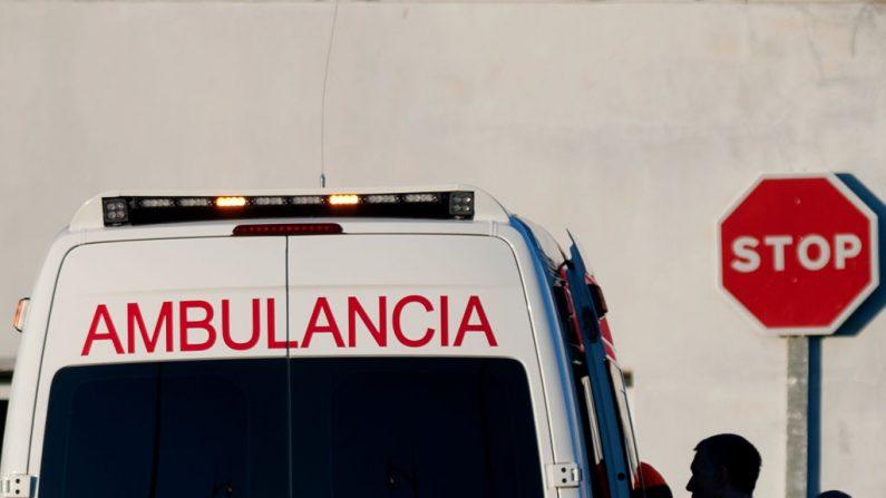 Ambulancia en Málaga en una imagen de archivo del 8 de septiembre de 2014. (JORGE GUERRERO / AFP / Getty Images)