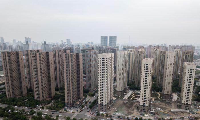 Desarrollos residenciales en la ciudad de Tianjin, el 10 de mayo de 2018. (Fred Dufour/AFP/Getty Images)