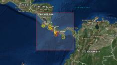 Terremoto en Panamá de 6,3 grados azota a Chiriquí y la frontera con Costa Rica