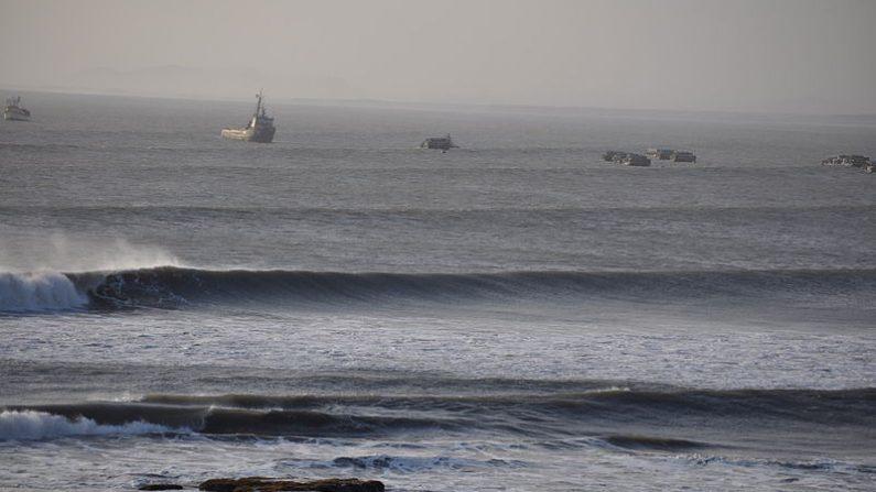 Puerto Chicama, también conocido como Puerto Malabrigo. Aquí desembarcaron los cuatro pescadores perdidos. (Wikimedia Commons)