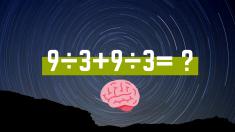 Un simple problema matemático para ejercitar ese maravilloso músculo llamado cerebro