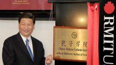 Los Institutos Confucio de China amenazan la libertad global