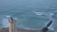 """""""Mar cruzado"""": un fenómeno tan inusual como peligroso"""